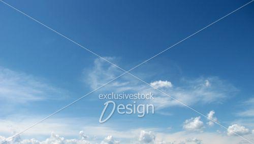 Ciel bleu belle journée été