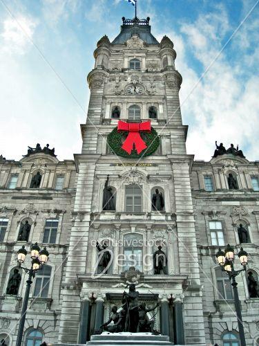 Parlement québec hiver zoom