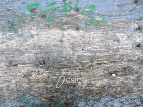 Planche bois usée peinture bleu cyan
