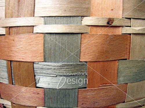 Texture osier bois couleurs variés