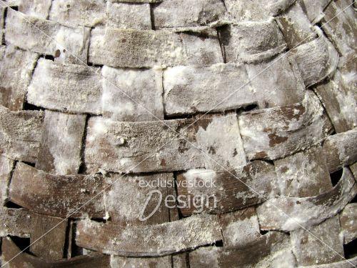 Texture osier carrés plan large