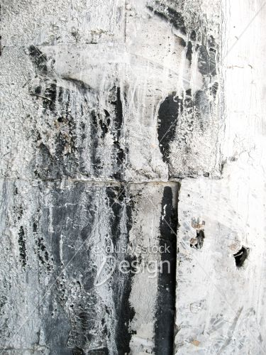 banque d 39 image coulisses de peinture blanche sur mur noir exclusive stock design. Black Bedroom Furniture Sets. Home Design Ideas